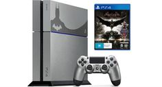 Looks like Batman is scanning/unboxing his very own Limited Edition Batman: Arkham Knight [PS4]