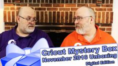 """Cricut Mystery Box - November 2016 Digital """"Unboxing"""" Reveal - http://www.craftsbytwo.com/cricut-mystery-box-fall-2016-digital-unboxing-reveal/  A digital Mystery Box from Cricut! Digital means all-new images you're guaranteed not to have. Plus you don't have to wait on shipping, start using them right away! Join us for the reveal on this digital mystery box that's bound to bring a little more holiday joy!  Visit our blog by clicking for easy shopping links, the best coup"""