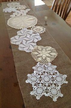 Show Ad - Decor - USA - Michigan - Beautiful Burlap & Doily Wedding Decorations | Weddingbee