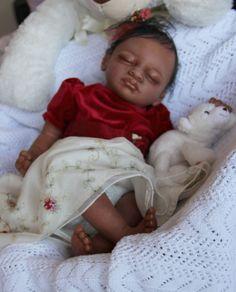 Biracial Aisha - Christmas SALE - Reborn baby doll - FREE SHIPPING