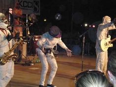 Here Come the Mummies:  The Terrifying Funk Show from Beyond the Grave!