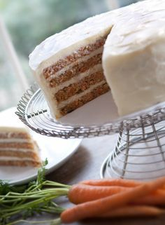 This is a Daisy Cakes Carrot Cake and the frosting is AMAZING!!! $44 and they will ship it to your face.