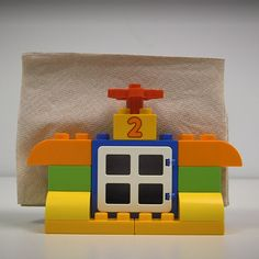 LEGO Napkin Holder - You are in the right place about diy face mask sewing pattern Here we offer you the most beautiful - Lego Duplo, Robot Lego, Lego Toys, Star Wars Toys, Lego Star Wars, Lego Disney, Easy Lego Creations, Lego Poster, Lego Racers