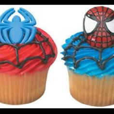 Spiderman Web-Slinger Rings, 12 Pack Cupcake Toppers, Two Designs, Party Favors 641938443899 Party Cakes, Party Favors, Cake Supplies, Party Supplies, Birthday Fun, Birthday Ideas, Birthday Parties, Fourth Birthday, Birthday Cakes