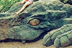 Astride The Dragon - I want one for my garden!