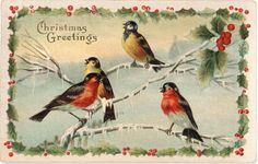 Card-Blanc by Kathy Martin: Vintage Christmas & Free Download