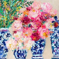 Brooke Ring is a southern artist working in Greenville, South Carolina. Brooke is known for painting colorful florals, coastal scenes, and figures. Acrylic Painting Inspiration, Acrylic Painting Flowers, Pictures To Paint, Art Lessons, Flower Art, Art Projects, Fine Art Prints, Art Photography, Floral Prints