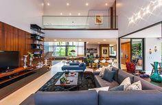 Integração é a palavra de ordem Casa em Joinville é uma aula de arquitetura #CasasModernas