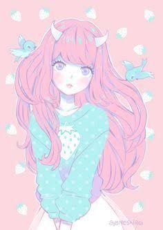 Resultado De Imagen Para Anime Tumblr Pastel Colors Anime Girl