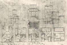 Adolf Loos, Tristan Tzara House, Paris (1925-1926) :