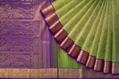 Tharakaram Handwoven Kanjivaram Silk Sari 1022468 - Sari / Kanjivarams - Parisera