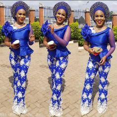 Nigerian Outfits, Nigerian Clothing, Nigerian Lace Styles, Ankara Blouse, Beautiful Outfits, Latest Fashion, Lace Up, African, Gowns