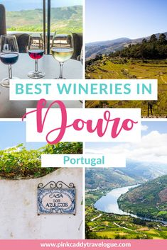 Portugal is home to the world's oldest demarcated wine region! It's a must-visit for any wine-lover. Here are the best wineries in the Douro Valley that you need to visit! #portugal #wine #dourovalley Douro Portugal, Visit Portugal, Spain And Portugal, Portugal Travel Guide, Europe Travel Guide, Travel Guides, Travel Abroad, Backpacking Europe, Places To Travel