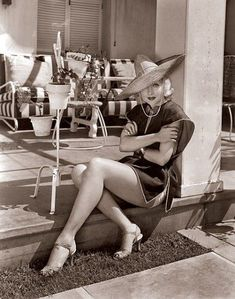 "bellalagosa: "" Carole Lombard At her Hollywood home, (1934) """