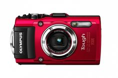 The new, rugged Olympus camera.