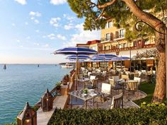 Morning Coffee by the Sea, Hotel Cipriani, Venice