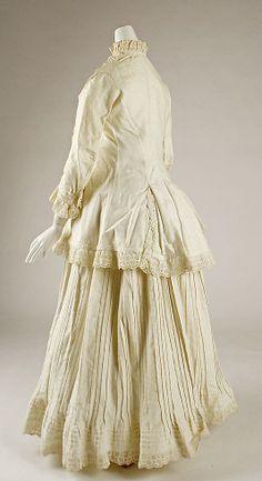 Morning dress Date: ca. 1880 Culture: Hungarian Medium: cotton
