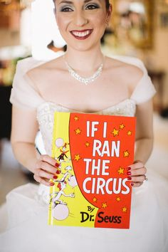 circus inspired bride // photo by Jenelle Kappe Photography