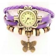 Online Shopping for Trendy ladies leather watch | Bracelets n Bangles | Unique Indian Products by Swastique - MSWAS49614010540