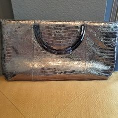 Metallic Gold Leather Snake Print Handbag This Lodis handbag can also be converted in to a shoulder bag. Very, very chic! Lodis Bags Shoulder Bags