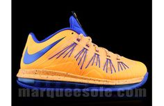 "Nike LeBron X Low ""Orange/Royal"""