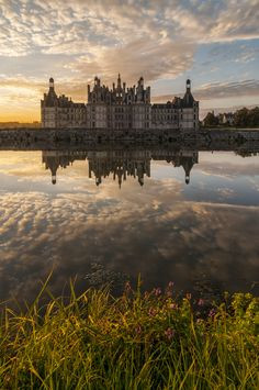 Chateau de Chambord, one of the most beautiful castles of the France and probably of the world.