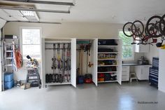 Enter to win your very own garden tool rack and get your garage organized.
