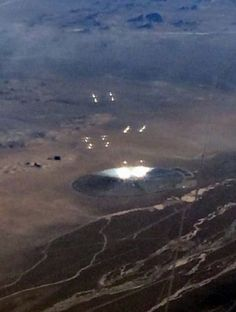 Crazy UFO Sighting From Plane Over Nevada | The Fortean Slip