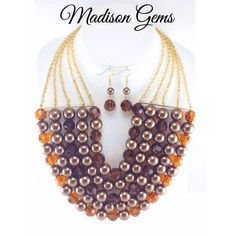 Capture the attention of everyone in this stunning necklace from www.madisongems.com  #necklace
