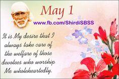 """It is My desire that I always take care of the welfare of those devotees who worship Me wholeheartedly.""  ✔️Share ✔️Like ✔️Comment  #shirdisbss #spiritual  ❤️ ❤️OM SAI RAM❤️ ❤️  Please share; FB: www.fb.com/ShirdiSBSS Twitter: https://twitter.com/shirdisbss Blog: http://ssbshraddhasaburi.blogspot.com  G+: https://plus.google.com/100079055901849941375/posts Pinterest: www.pinterest.com/shirdisaibaba"
