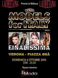 SANGUINETTO CHANNEL: Models For Italy JESSICA VINCENZI la vincitrice de...