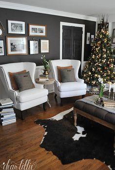 Dear Lillie: Farmhouse Holiday Series - Our Christmas Family Room