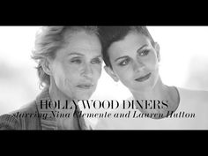 Hollywood Diners starring Nina Clemente and Lauren Hutton | PORTER magazine
