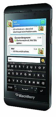 BlackBerry Z10 LTE - Schwarz (Ohne Simlock) Smartphone - Händler, Guter Zustand