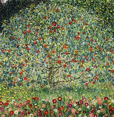 Gustav Klimt Apple Tree I painting is shipped worldwide,including stretched canvas and framed art.This Gustav Klimt Apple Tree I painting is available at custom size. Claude Monet, Art Klimt, Art Nouveau, Toile Photo, Oil Painting Reproductions, Art Graphique, Fine Art, Oeuvre D'art, Les Oeuvres