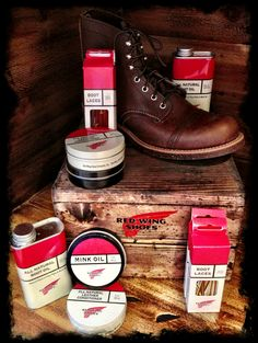 Nostalgia on Wheels: Dating Vintage Red Wing Boots | Man Stuff ...