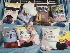 Pillow People...way before my kids' pillow pets!