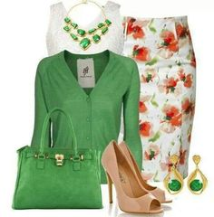 Floral & green