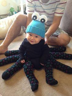 Comment faire un costume de pieuvre pour bébé :)