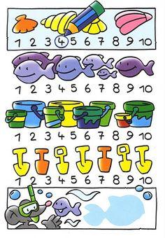 tellen met kleuters 2