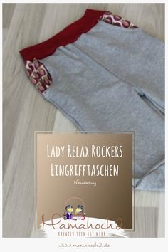 Nähanleitung Eingrifftaschen für Lady Relax Rockers