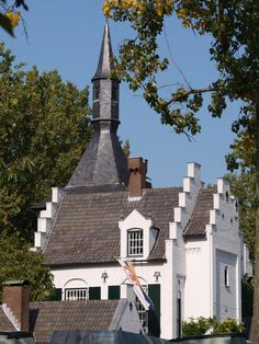 Kasteel Groot Buggenum, Grathem, Zuid-Limburg.