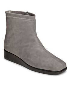 Another great find on #zulily! Grey Molasses Ankle Boot #zulilyfinds