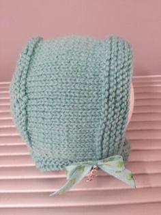 Gorro de lana para bebé.