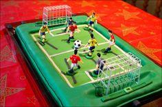 Stiga football marzipan cake Marzipan Cake, Poker Table, Amazing Cakes, Football, Cool Stuff, Home Decor, Soccer, Futbol, Decoration Home