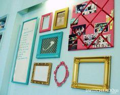 DIY Home :DIY frame gallery attempt : My Bedroom