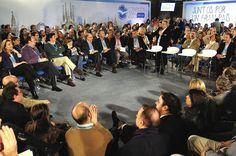 En la Ponencia del Presidente de la Diputación de Valencia, Alfonso Rus, en la Convención Nacional