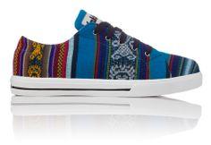 Inkkas Shoes - Handmade in South America - Bluebird   INKKAS Phuyupata Shoes   Tribal & Aztec Shoes