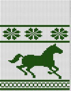 horse knitting charts free - Google-haku