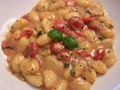 Gnocchi mit Tomaten und Mozzarella 7